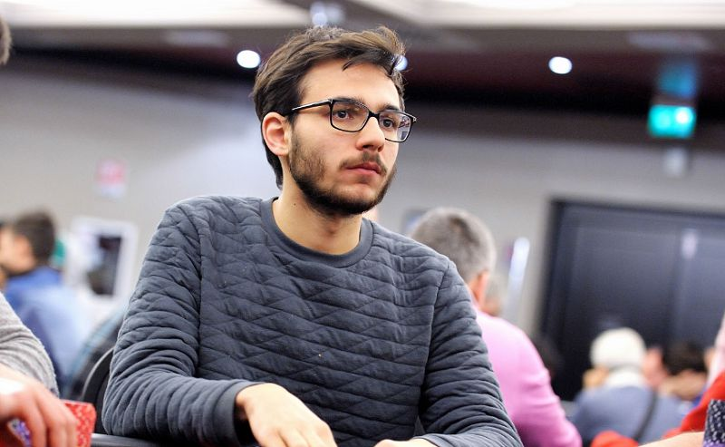 Federico Piroddi, vincitore domenica scorsa del torneo Pesi Massimi
