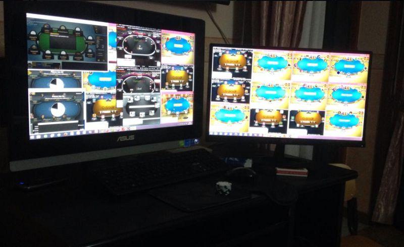Poker online MTT